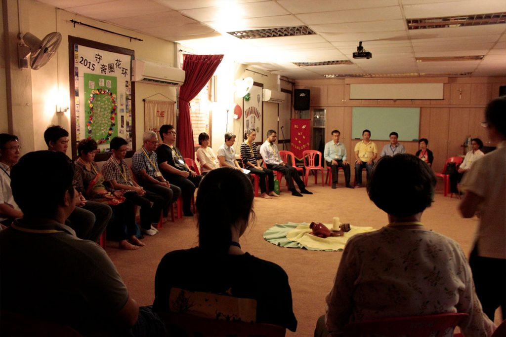 Participants of the NCID programme taking part in a formation session. Photo: Office for the New Evangelisation